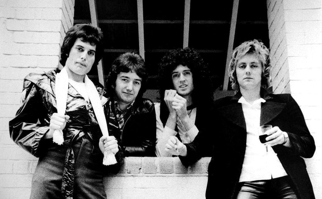 Queen, en 1978.