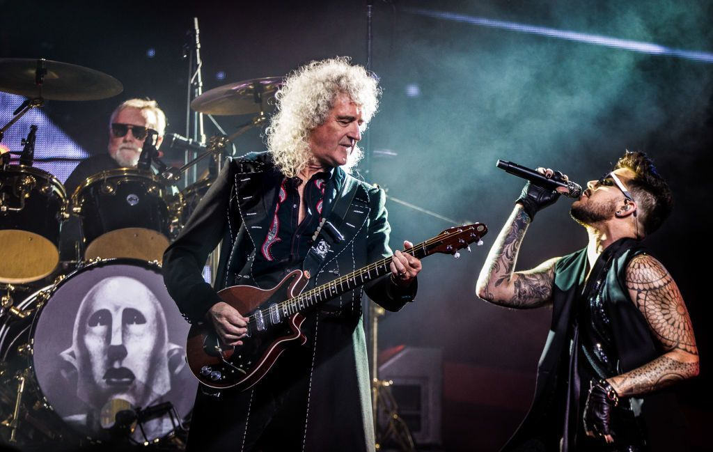 Queen + Adam Lambert.