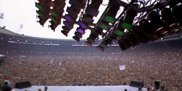 Queen en Wembley, 1986.
