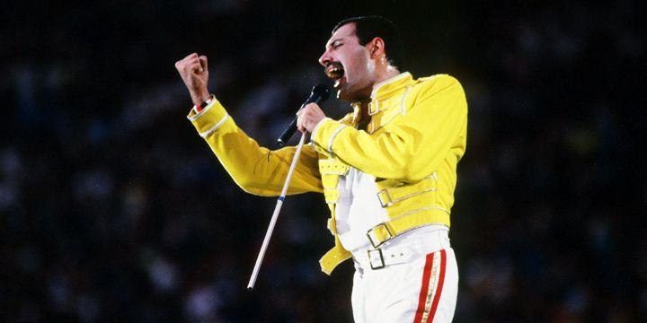 Freddie Mercury. Wembley.