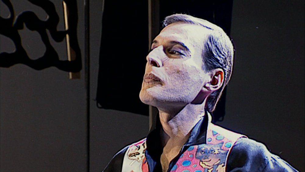 Freddie Mercury en su último videoclip. Queen.