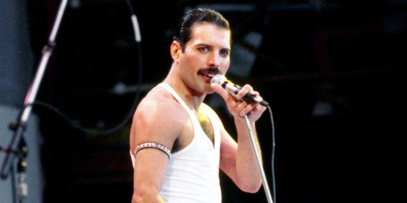Freddie Mercury en Live Aid.