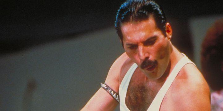Freddie Mercury en Live Aid