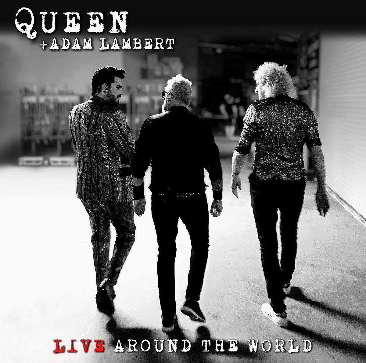 queen adam lambert around the world