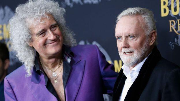 Brian May y Roger Taylor lucharon para mantener una escena tensa en Bohemian Rhapsody