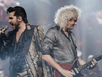 Queen Brian May Adam Lambert